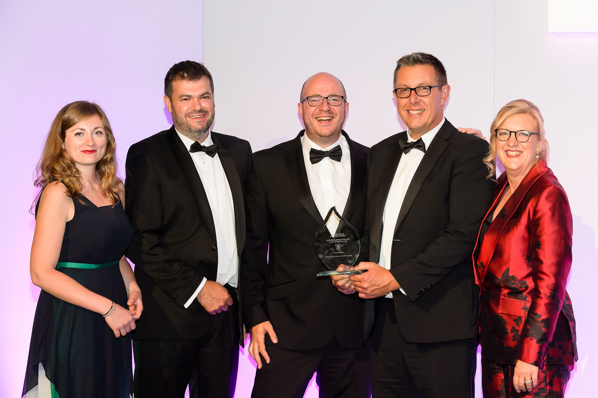 "Agrivert win ""Best UK Food Waste AD Plant"" for North London food waste recycling facility"
