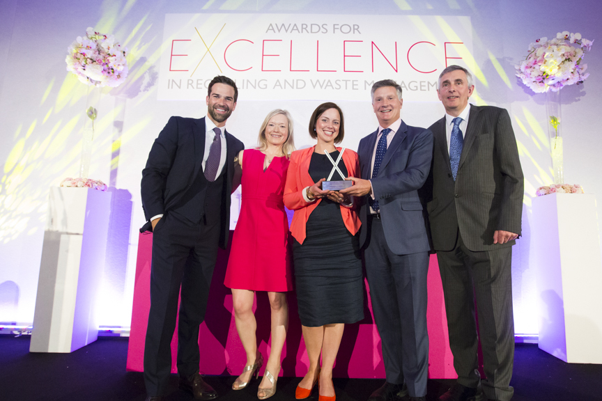Agrivert wins award for excellence in Recycling and Waste Management