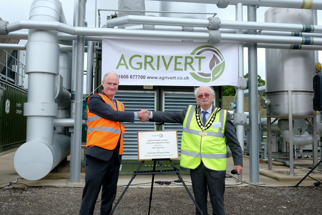 Agrivert officially opens fifth food waste recycling facility