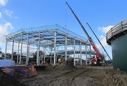 Anaerobic Digestion plant construction