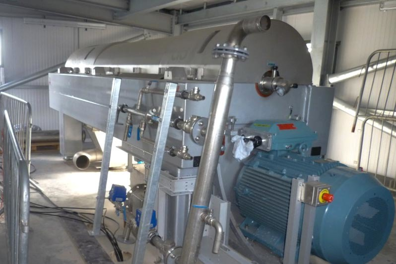 Agrivert sewage treatment plant internal workings